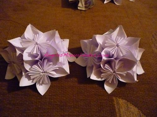 Flor para el árbol de navidad: Paso 13