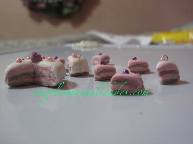 Pastelitos porcelana