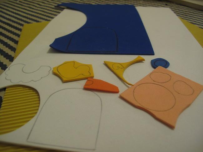 2-marcar-piezas-goma-eva