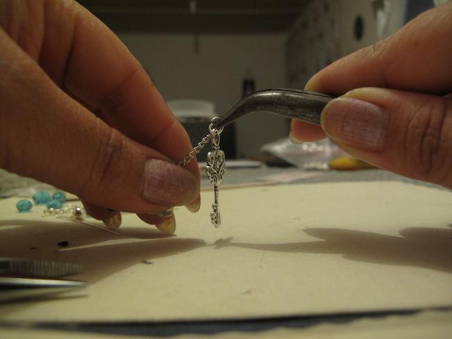 5-unir-cadena-colgante-llave